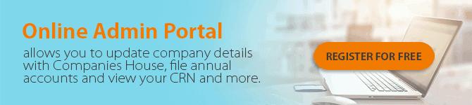 Online admin portal -Banner ad