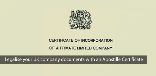 how to get a document apostille in the uk