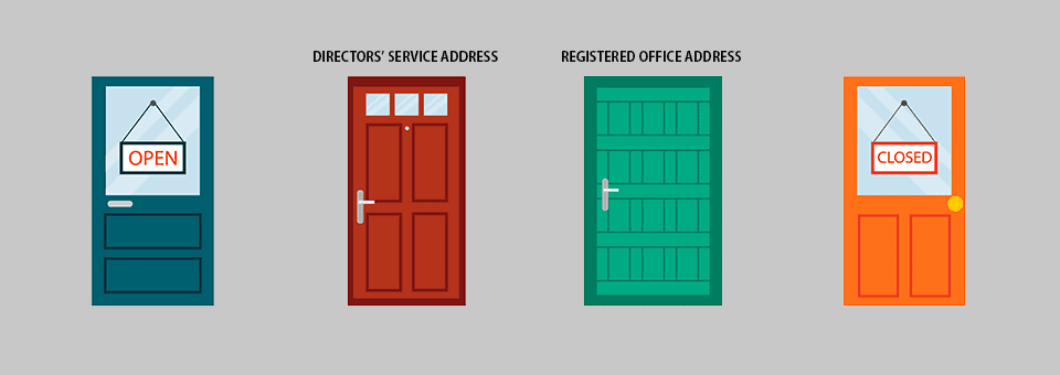Service address and registered office address – what's the difference?