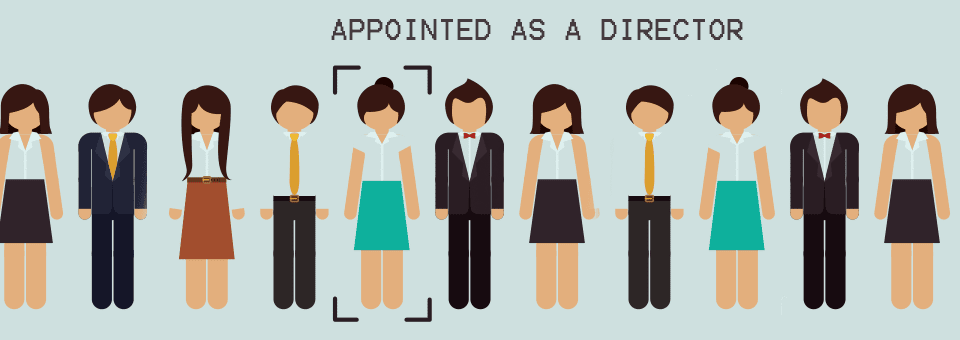 Appointing a new company director