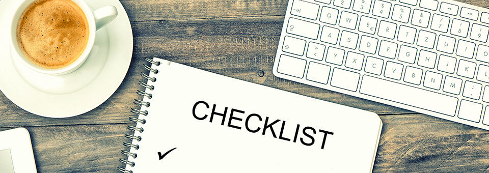 An essential checklist for business startups